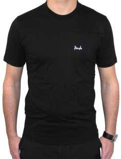 Mens PRINGLE Golf T Shirt Black Small Medium