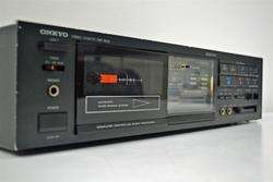Onkyo Stereo Cassette Deck Tape Player Recorder TA 2027