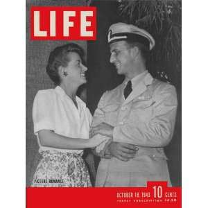 Life Magazine issue dated October 18, 1943 The featured movie