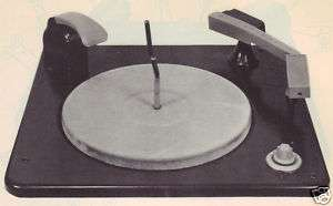 1948 WESTINGHOUSE V 4944 RECORD PLAYER SERVICE MANUAL