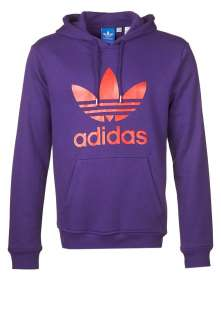 adidas Originals ADI TREFOIL HOODIE   Hoodie   purple   Zalando.co.uk
