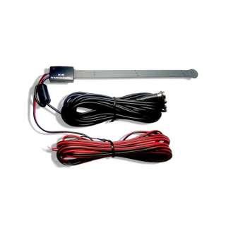 Car Digital DVB T Single TV Tuner Phantom 5v Feed Antenna 20db Gain F