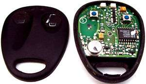VAUXHALL OPEL OMEGA B REMOTE DOOR LOCKING FOB CIRCUIT BOARD
