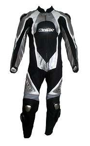 Tuta per moto racing da pista in vera pelle intera con gobba 46 48 50