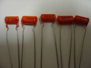 Sprague .002 Orange Drop Capacitor 1000v Treble Bleed