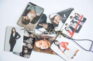 City Hunter Mobile Phone Strap Keychain N1 Lee Min Ho