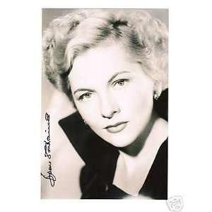 Joan Fontaine signed photo 70  Sports & Outdoors