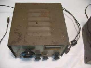 GOLDEN EAGLE BROWNING CB RADIO BASE TUBES HAM RECEIVER TRANSMITTER
