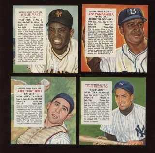 1954 Redman Tobacco Baseball Card Complete Set VG/EXMT