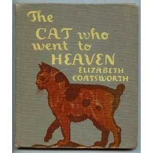 : The Cat Who Went To Heaven: Elizabeth Coatsworth, Lynd Ward: Books