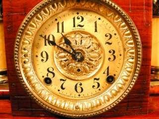 Grand Antique Seth Thomas Adamantine Clock   Ding Dong