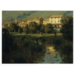 Roger Williams   Reflections Of Italy Canvas