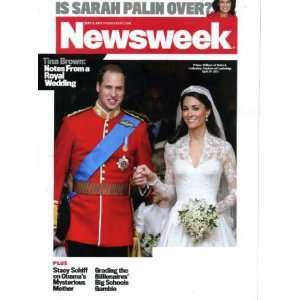 Tina Brown: Notes From a Royal Wedding, Is Sarah Palin Over?: Books