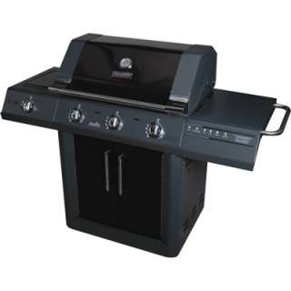 CharBroil Heatwave Infrared 3 Burner Dual Fuel Gas Grill with Side