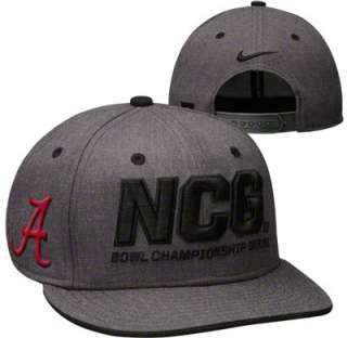 Alabama Crimson Tide Nike Charcoal 2011 BCS National Championship Game