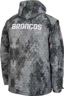 Denver Broncos Print 2010 Sideline United Full Zip Heavyweight Jacket