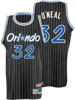 Neal Jersey adidas Black Throwback Swingman #32 Orlando Magic Jersey