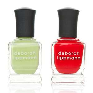 Deborah Lippmann Nail Lacquers   Almost Paradise and Footloose