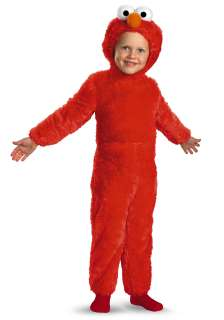 TV / Movie Costumes Sesame Street Costumes Toddler Furry Elmo Costume