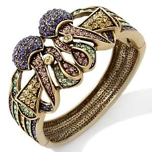Heidi Daus Distinctive Delight Crystal Bangle Bracelet