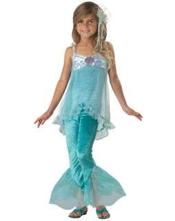 Child Mischievous Mermaid Costume  Girls Mermaid Halloween Costumes