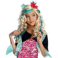 Ships today when ordered by 3PM EST Monster High Lagoona Blue Wig