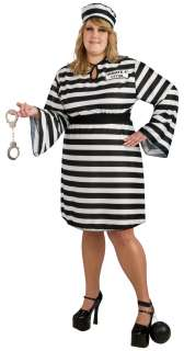Plus Size Female Prisoner Costume   Prison Costumes