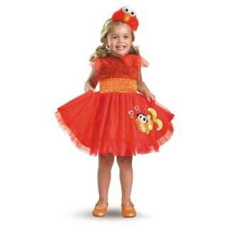 Halloween Costumes Sesame Street   Frilly Elmo Toddler / Child Costume