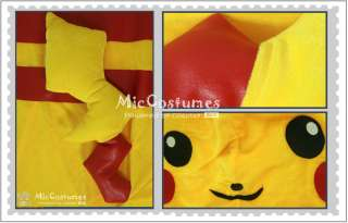 Pokemon Pikachu Cosplay Costume is provided by a sophisticated