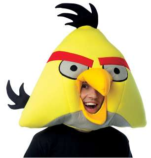 ANGRY BIRDS YELLOW MASK ADULT     15PM651072