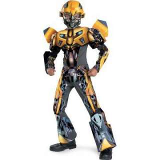 Transformers Bumblebee Movie 3 D Deluxe Child Costume   Includes