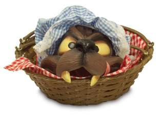 Wolf Head In A Basket   Little Red Riding Hood Costume Accessories