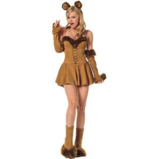 Adult Sexy Cuddly Lion Costume   Sexy Animal Costumes   15UA83200