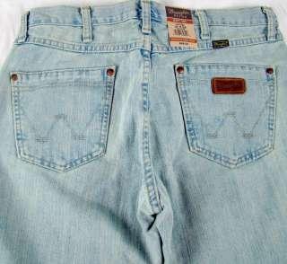 Mens Western Wrangler Retro Boot Cut Premium Patch Jeans NWT 36 x 32 $