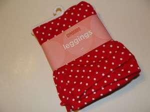 Gymboree Poppy Love Girl Size 2T Red Dot Leggings NEW