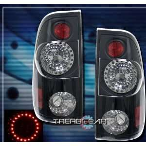 Ford F350 Led Tail Lights Black LED Taillights 1997 1998