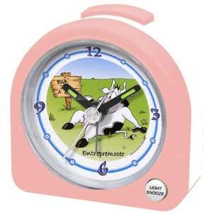 Travel Alarm Clock, Light Snooze Function, Pink Kitchen & Dining