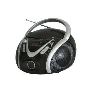 NPB 246 Portable MP3/CD Player with AM/FM Stereo Radio and USB Input