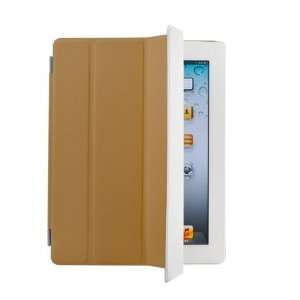 The New iPad 3rd Smart Cover Slim PU Leather Case Wake