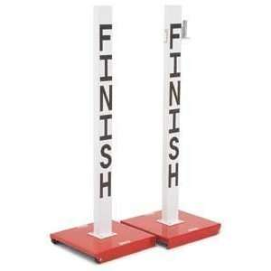 International Track and Field Finish Line Posts (pair
