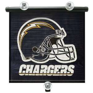 SAN DIEGO CHARGERS Team Logo Car Window BABY / CHILD SUN SHADE (14 x