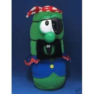 VEGGIE TALES PLUSH PIRATE LARRY BOY DOLL  Toys & Games