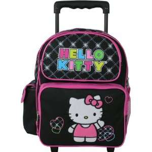 Hello kitty toddler rolling backpack