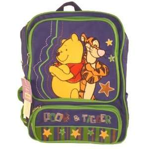 Pooh Tigger Large Backpack Toys & Games