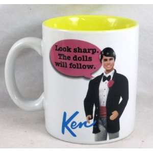 Barbie and Ken 12 oz. Ceramic Mug