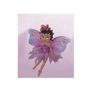 6 Betty Boop Magical Purple Fairy Christmas Ornament