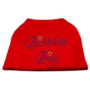 Dog Supplies Birthday Boy Rhinestone Shirts Red Xxxl(20)