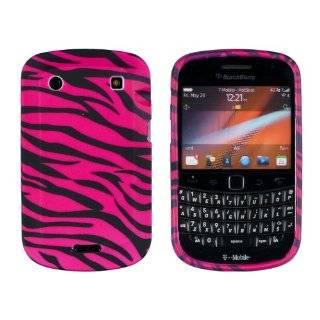 White Flower Hard Case / Cover / Shell for Blackberry Bold Touch 9900