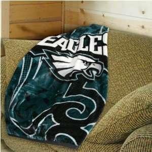 Philadelphia Eagles Tattoo Plush Blanket Throw