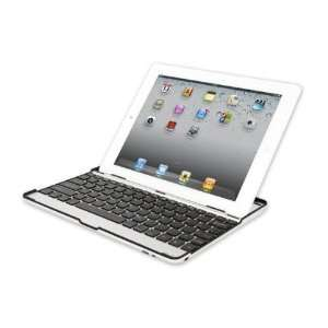 Bluetooth Keyboard and Case for Apple iPad 2 Silver Computers